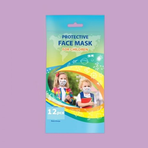 Disposable children face mask 12pcs