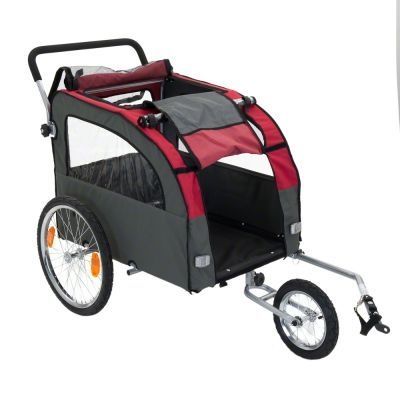 Bellelli pet trailer with jogging set