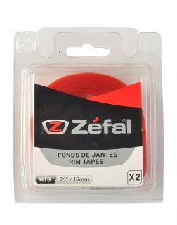 ZEFAL SOFT PVC RIM TAPES - Red - 26'' 18mm