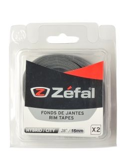 ZEFAL SOFT PVC RIM TAPES - Grey - 29''/28'' 16mm by pair