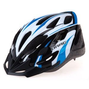 Helmet DRAG Race II Uni blue/black