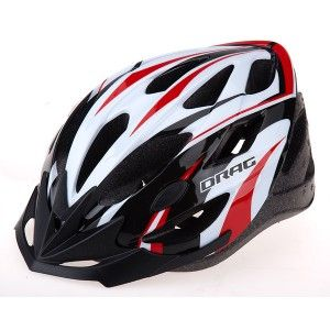 Helmet DRAG Race II Uni red/black