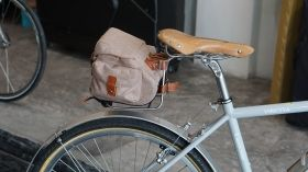 VINCITA TEMPO SADDLE BAG MEDIUM SIZE VINTAGE DESIGN  (CARRIER INCLUDED)