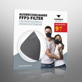 Respiratory FFP3 filter for MaskPro Mask