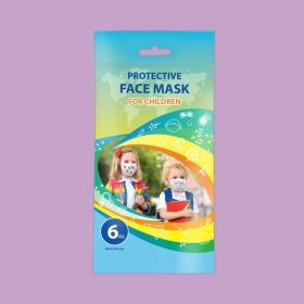 Disposable children face mask 6pcs