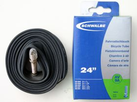 "24"" Schwalbe Bicycle Tube av 9A"