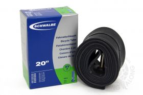 "20"" Schwalbe Bicycle Tube av7"